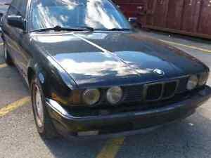 1990 bmw 525i manual