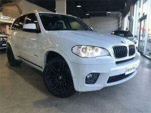 2013 BMW X5 E70 MY1112 xDrive30d White Sports Automatic Wagon Caringbah Sutherland Area Preview