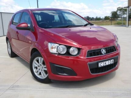 2012 Holden Barina TM MY13 CD Red 6 Speed Automatic Hatchback Singleton Singleton Area Preview