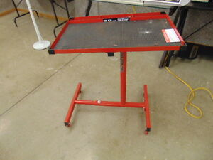 POWER BUILT MOVABLE WORK OR PARTS TABLE NEW