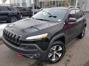 '17 Jeep Cherokee Trailhawk - LOADED, Htd/Cooled Lthr, Dbl Sunrf