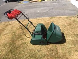 Atco Windsor 14S electric cylinder, self propelled lawn mower.