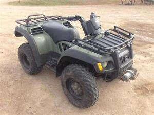 2005 JOHN DEERE TRAIL BUCK 500 QUAD 4X4 AUTOMATIC NICE SHAPE