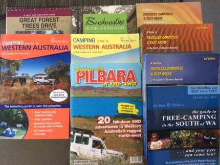 Camping and Travel Books (10)