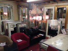 New mirrors from £5 - £499 from 1 ft - 8 ft tall IN STOCK NOW 350 to choose from