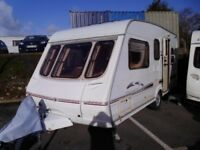 2002 Swift Celeste 17/5 Double Dinette 5 Berth Touring Caravan.