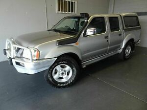 2005 Nissan Navara D22 ST-R (4x4) Silver 5 Speed Manual Dual Cab Pick-up Woodridge Logan Area Preview