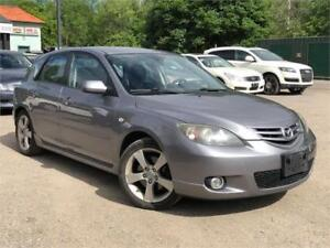 2006 Mazda Mazda3 GT LOW KMS  5-Speed Manual Alloy Power Group