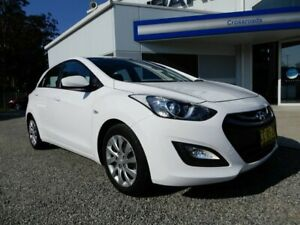 2014 Hyundai i30 GD2 Active White 6 Speed Sports Automatic Hatchback Glendale Lake Macquarie Area Preview