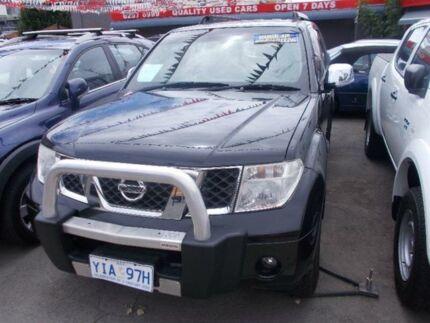 2009 Nissan Pathfinder R51 MY07 ST-L (4x4) Black 6 Speed Manual Wagon
