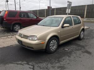 2004 Volkswagen Golf GLS  TDI  DIESEL  TOUTE EQUIPER   1600$
