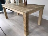 Quality Hand Made Rustic Dining Table