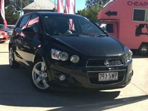 2013 Holden Barina TM MY13 CDX Black 6 Speed Automatic Hatchback South Toowoomba Toowoomba City Preview