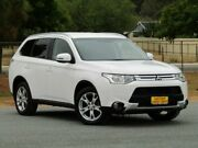 2014 Mitsubishi Outlander ZJ MY14.5 LS 4WD White 6 Speed Sports Automatic Wagon Strathalbyn Alexandrina Area Preview