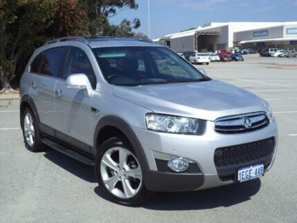 2013 Holden Captiva CG MY12 7 LX (4x4) Silver 6 Speed Automatic Wagon Maddington Gosnells Area Preview