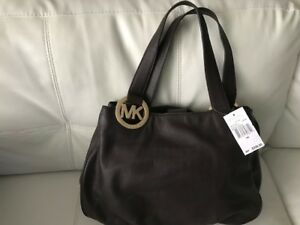 Michael Kors Brown Large Leather Handbag - Brand New with tag!