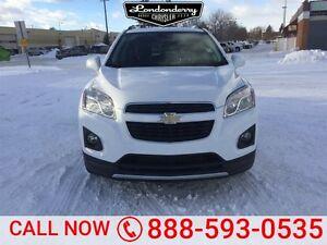 2015 Chevrolet Trax AWD LTZ Accident Free,  Leather,  Sunroof,