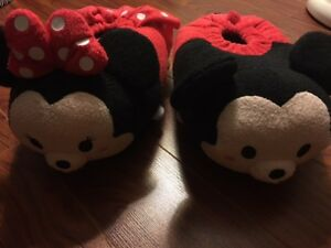 Brand New Disney Plush Slippers