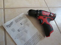 Milwaukee M12 Drill/Driver BARE TOOL
