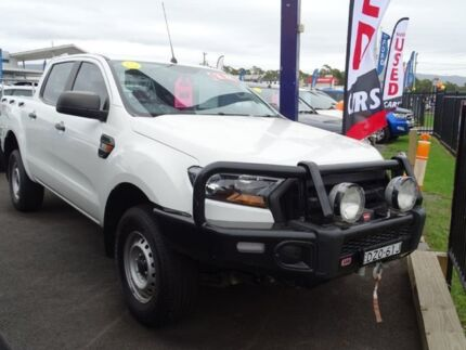 2016 Ford Ranger PX MkII XL Double Cab White 6 Speed Sports Automatic Utility Albion Park Rail Shellharbour Area Preview