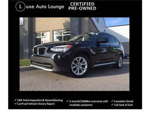 2012 BMW X1 28i xDrive - sunroof, heated power seats, CPO!!