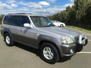 2002 Hyundai Terracan Silver 5 Speed Manual Wagon Revesby Bankstown Area Preview