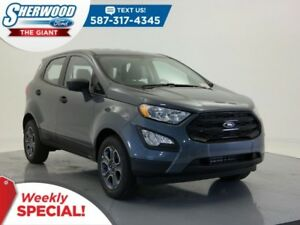 2018 Ford EcoSport S - Bluetooth, USB, Rear View Camera