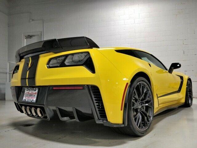 2019 Yellow Chevrolet Corvette Z06 3LZ | C7 Corvette Photo 8