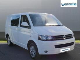 2014 Volkswagen Transporter 2.0 TDI 102PS Highline Kombi Van Diesel white Manual