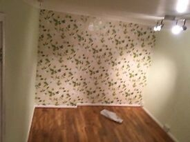 Newly refurbished double bedroom