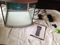 Used but in good condition fish tank / accessories brand new
