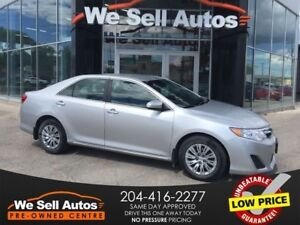 2014 Toyota Camry LE *REAR CAM *BTOOTH *HTD MIRRORS *TRIP COMP