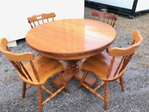 Handmade Table with Chairs