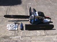 Spear & Jackson Petrol chainsaw , as new