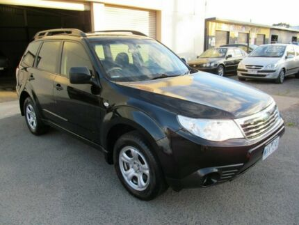 2008 Subaru Forester MY08 X Black 5 Speed Manual Wagon Werribee Wyndham Area Preview