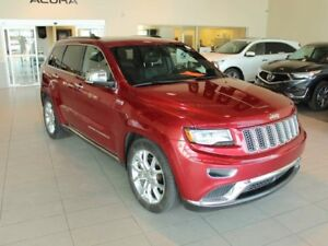 2014 Jeep Grand Cherokee SUMMI - Low KM, Pan. Moonroof, Heated S