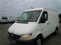 2004 MERCEDES SPRINTER 2500 - SHORT WHEEL BASE - CARGO