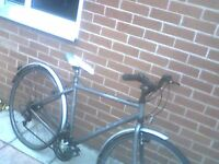 bicycle man rd bike needs tlc £25.00