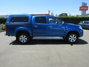 2010 Toyota Hilux KUN26R MY10 SR5 Blue 4 Speed Automatic Utility Warragul Baw Baw Area Preview