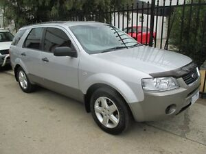2007 Ford Territory SY TS Silver 4 Speed Sports Automatic Wagon Tottenham Maribyrnong Area Preview