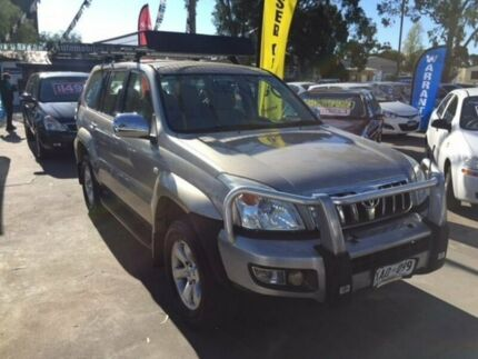 2003 Toyota Landcruiser Prado GRJ120R GXL Gold 5 Speed Manual Wagon Gepps Cross Port Adelaide Area Preview