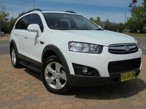 2012 Holden Captiva CG MY12 7 CX (4x4) White 6 Speed Automatic Wagon Greenway Tuggeranong Preview