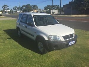 1999 Honda CR-V RD MY2002 4WD White Automatic Wagon Wangara Wanneroo Area Preview