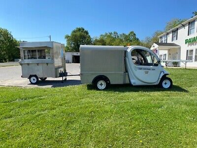 Stainless Vendingconcession Food Trailer
