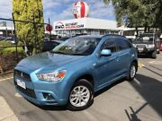 2012 Mitsubishi ASX XB MY13 Aspire 2WD Blue 6 Speed Constant Variable Wagon Seaford Frankston Area Preview