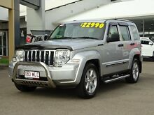 2012 Jeep Cherokee KK MY12 Limited Bright Silver 4 Speed Automatic Wagon Garbutt Townsville City Preview