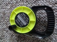 SCUBA DIVING safety reel, buddy system, technical or cave diving. Also perfect in low visibility.