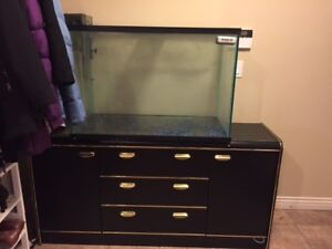 75 Gallon Fish Tank with Stand and Accessories