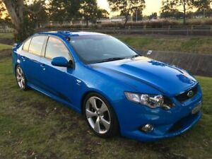 2011 FPV GS FG MY11 Blue 6 Speed Manual Sedan Mayfield East Newcastle Area Preview