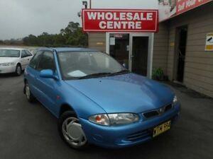 2000 Proton Satria XLS Blue 3 Speed Automatic Hatchback Edgeworth Lake Macquarie Area Preview